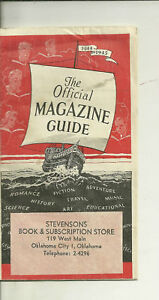 1944-45-The-Official-Magazine-Guide-Great-reference-Catalog