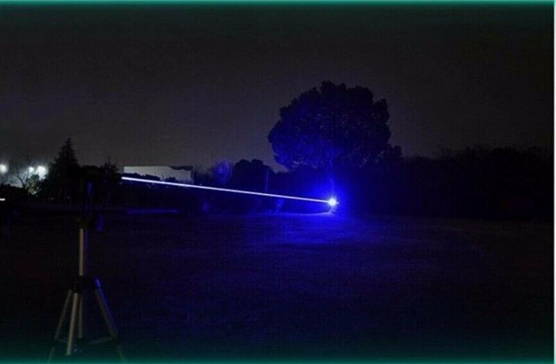 Powerful 50000mW 450nm Blue Beam Laser Pointer with LC16340