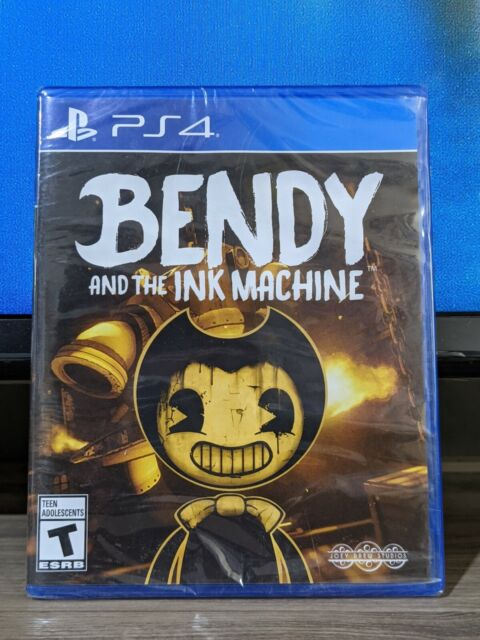 Bendy And The Ink Machine (Sony Playstation 4 2019) PS4 New Sealed 🇨🇦