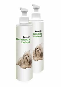 2 x 250ml hundeshampoo set sensitiv shampoo sp lung ohne. Black Bedroom Furniture Sets. Home Design Ideas