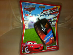 Disney-Cars-Mcqueen-Pc-optico-USB-raton-de-ordenador-por-Cirkuit-Planet-Nuevo