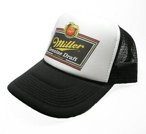 d3b2503bbad Miller Genuine Draft Beer Hat Vintage Snap back Cap new adjustable ...