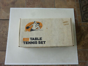 Details About New Vintage Sears 4 Player Table Tennis Set Ping Pong In Origial Box Package