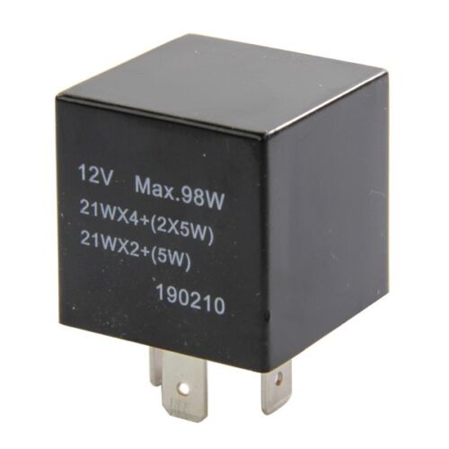 Turn Signal Indicator Flasher Relay Switch Unit 12V Electrical Intermotor 58901