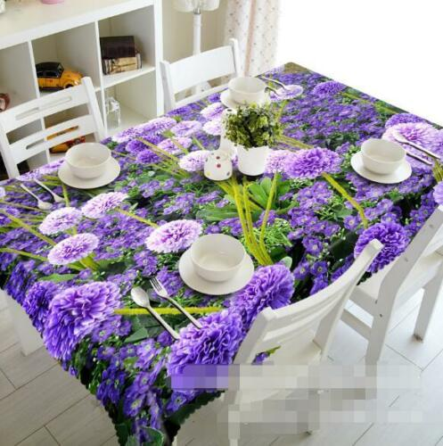3D Botany 415 Tablecloth Table Cover Cloth Birthday Party Event AJ WALLPAPER AU