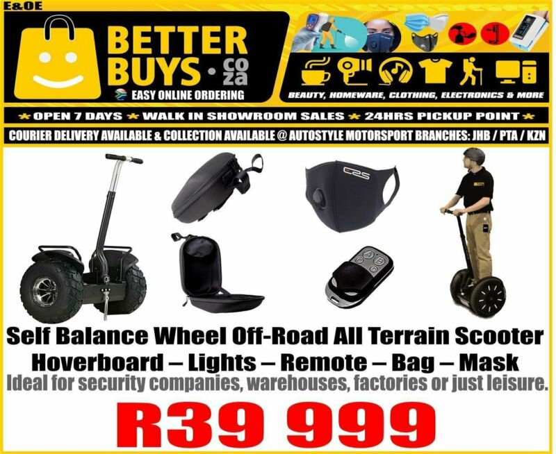 Self Balance Wheel Off-Road All Terrain Scooter Hoverboard