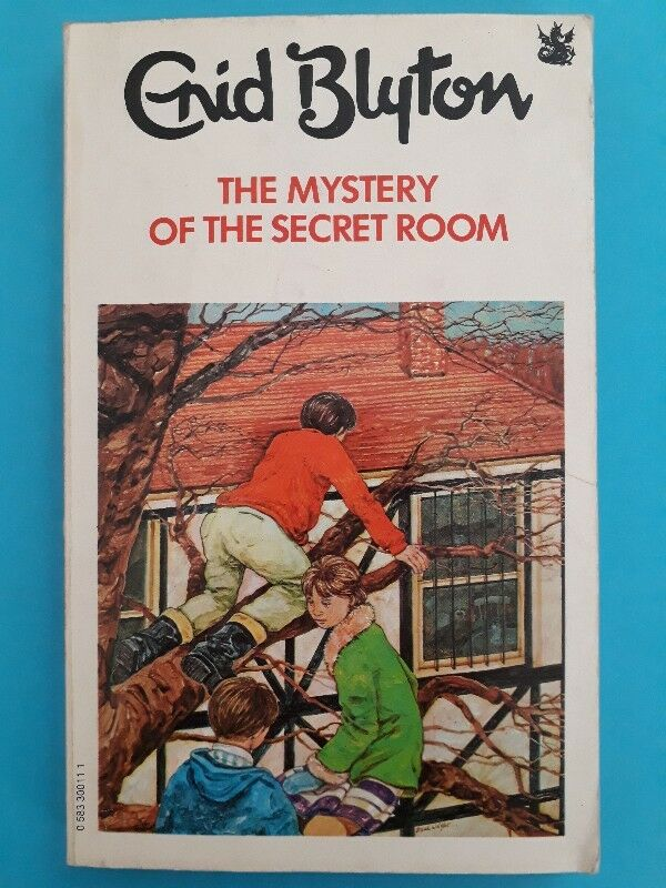 The Mystery Of The Secret Room - Enid Blyton.