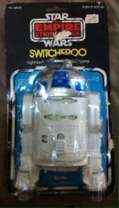 Couvercle de commutateur Switcheroo Vintage Empire Star Wars 1980 Tesb Empire R2-d2 avec emballage