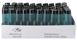 Mason-amp-Miller-Refreshing-Shower-Gel-20ml-bottle-Hotels-amp-Guest-Houses-Size