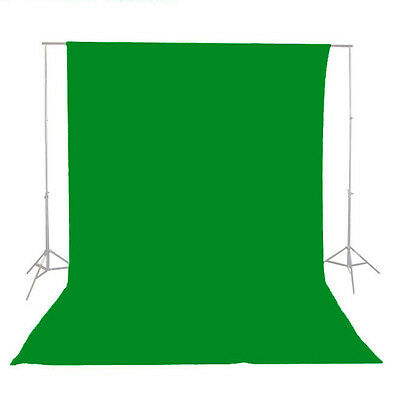 9x15 FEET CHROMAKEY GREEN SCREEN MUSLIN BACKGROUND STUDIO PHOTOGRAPHY BACKDROP