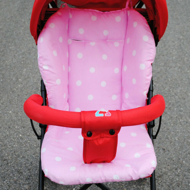 Pink Blue Baby Boy Girl Cover Stroller Seat Soft Cushion Pad Support for BabyZen