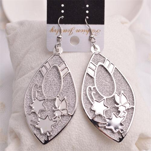 2pc Elegant Women Lady Hook Drop Fashion Earrings Ear Stud Dangle Jewelry Gift