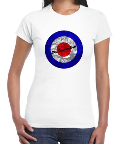My Generation Scooter Mod Target Women/'s T-Shirt