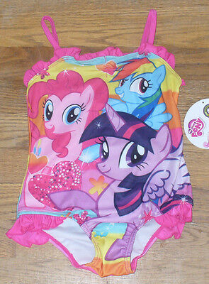 Swimwear Baby & Toddler Clothing Cooperative New My Little Pony Onepiece Swimsuit Pink Size 2t Pretty Lustrous Surface