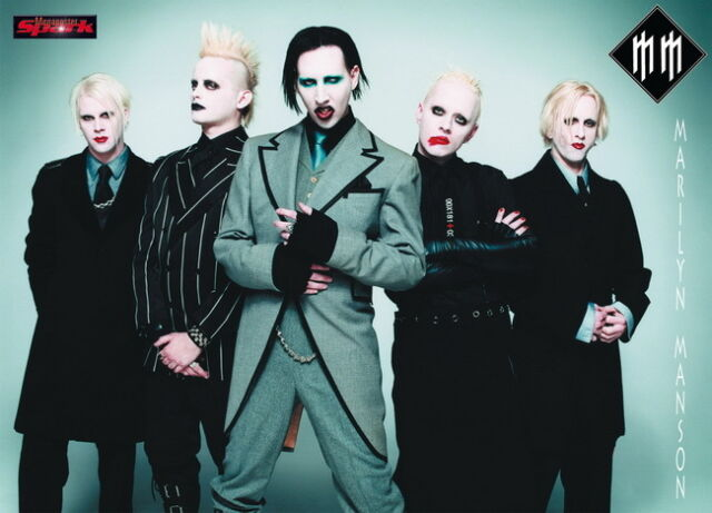 "004 Marilyn Manson - Brian Hugh Warner Music Actor Singer Band 33""x24"" Poster"
