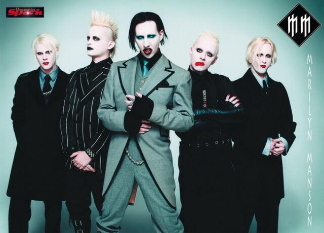 "004 Marilyn Manson - Brian Hugh Warner Music Actor Singer Band 33""x24"" Poster"
