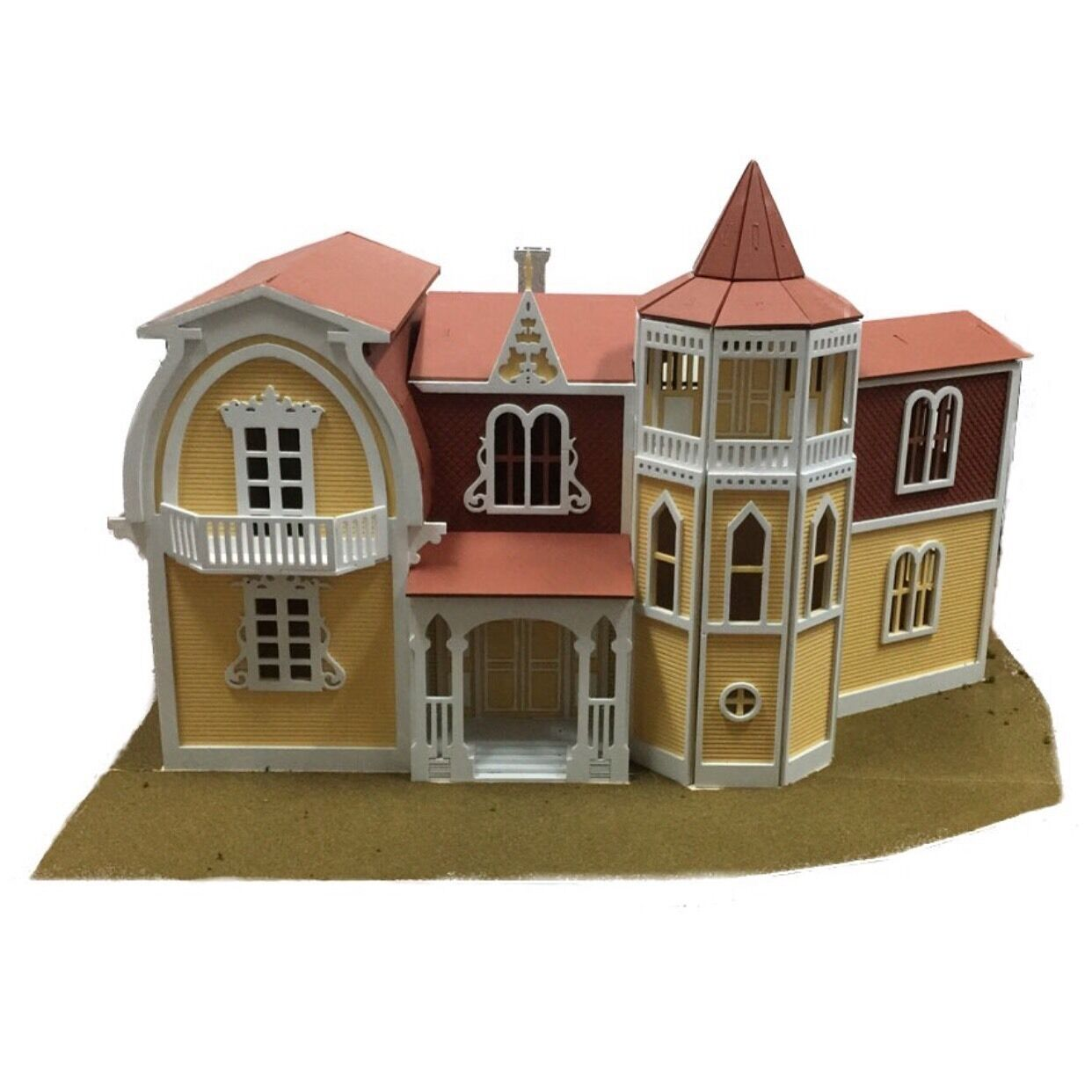 Munster House 3D Wood Puzzle Kit