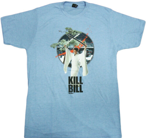 Kill Bill House of Blue Leaves Adult Heather T-Shirt Martial Arts Crime film
