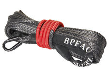 Zeak 1449 Black Synthetic Winch Rope 7500 Lb Recovery Winch Rope Cable