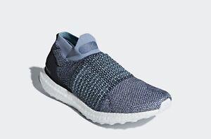 Adidas-Ultraboost-Laceless-Parley-Sneakers-Mens-US-10-5-BNIB-Primeknit-Boost-New