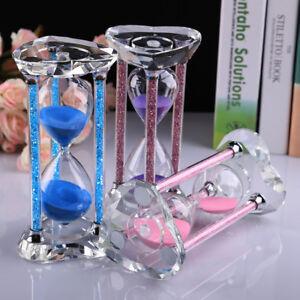 30 minutes retrore crystal hourglass sandglass timer