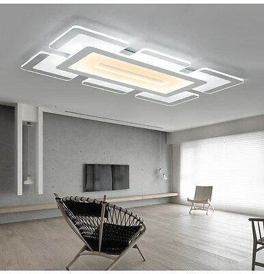 Rectangular Acrylic Modern Led Ceiling, Ceiling Lights For Living Room