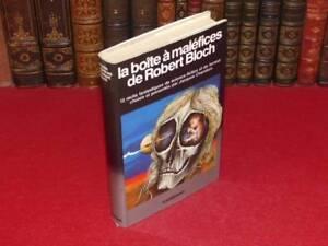 BIBLIOTHEQUE-H-amp-P-J-OSWALD-BOITE-A-MALEFICES-DE-ROBERT-BLOCH-EO-1981-SF