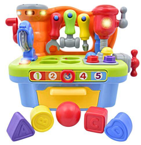 Juego De Juguetes Toy Workshop Para Ninos Con Sonidos Y Luces Interactivos...