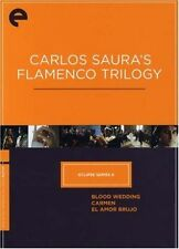 Eclipse Series 6: Carlos Saura's Flamenco Trilogy. The Criterion Collection.