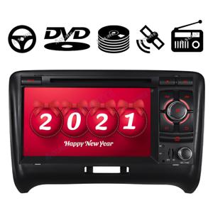 """7"""" DVD GPS Navi Autoradio USB Multimedia DAB+ für Audi TT TTS 8N 8J"""