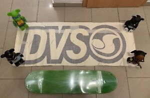 DVS Skateboard Schuhe Shoes Footwear Banner Poster Black 01 Powell Independent