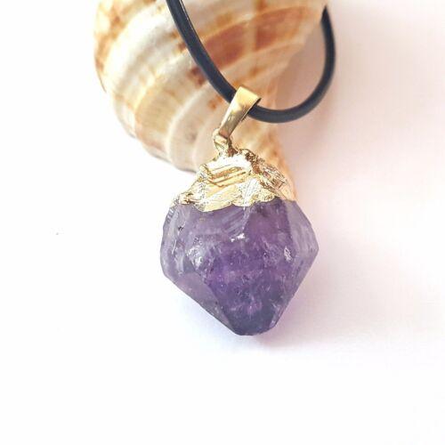 NELLYS 1 Anhänger A Grade Amethyst lila  violett