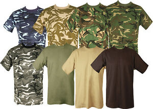 ac6ca5bd Image is loading MENS-MILITARY-TACTICAL-CAMOUFLAGE-CAMO-T-SHIRT-ARMY-