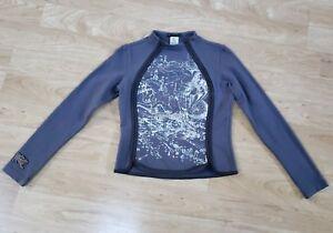 Asymmetrical Jeans Zipper Sweatshirt Women's Medium Parasuco With Ergonomic nXTBqWg