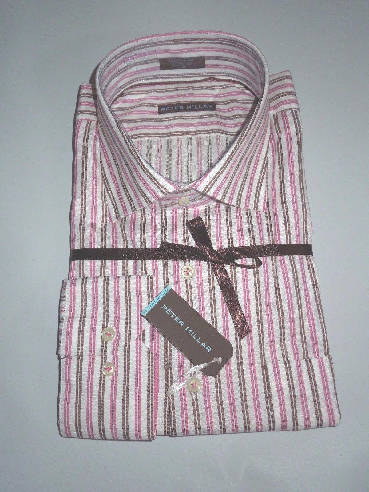 51b02194 New PETER MILLAR button down Dress SHIRT L Large Retail nsqbfi1848 ...