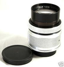 TELOR O 85mm F2 lens Carl Zeiss Jena Sonnar Jupiter-9 for Pentax M42 Canon Nikon