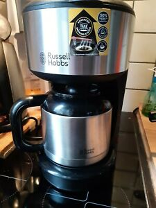 Kaffeemaschine russel hobbs Edelstahlkanne