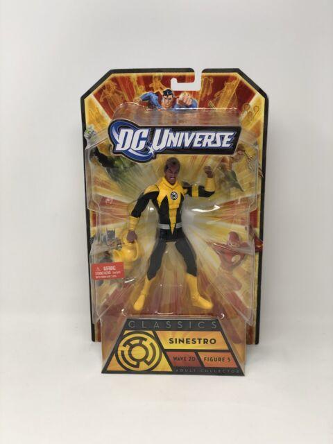 DC Universe Classics SINESTRO Nekron BAF CNC Wave 20 Figure 5 Mattel 2011 Nib