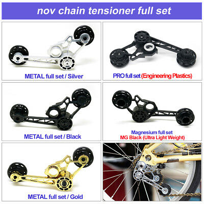 for 2, 6 speed nov Titanium chain pusher full set light weight for brompton