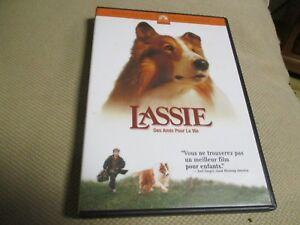 """DVD """"LASSIE : DES AMIS POUR LA VIE"""" film enfants"""