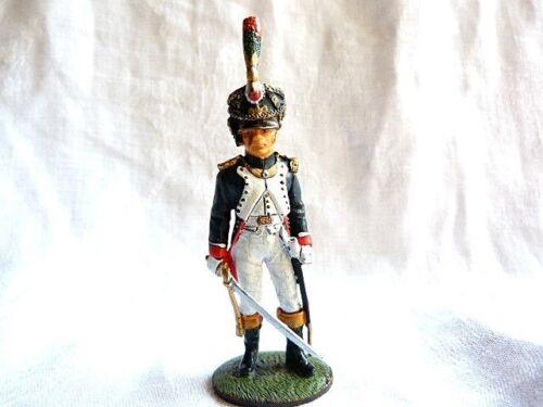 Soldat de plomb Delprado 1er empire Off.tirailleur jeune garde 1810