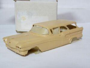 Provence-Moulage-1009TK-1-43-1958-Buick-Caballero-Resin-Handmade-Model-Car-Kit