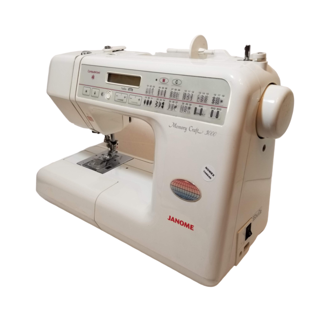 Janome Excel Decor 5024 Sewing Machine at John Lewis & Partners | 640x640