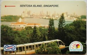 Malaysia Used Phone Cards - Visit ASEAN Year 1992, Sentosa Island, Singapore
