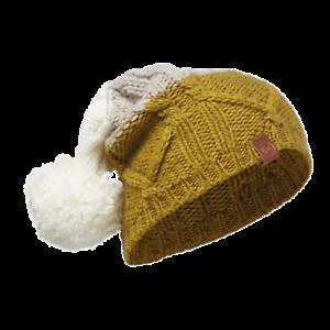 Buff-Knitted-Bobble-Hat-039-Braid-Tobaco-039-Outdoor-Winterwear-Fashion