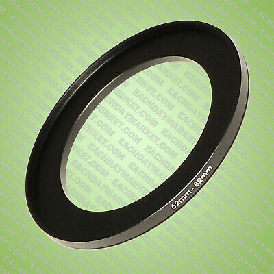 62mm to 82mm Stepping Step Up Filter Ring Adapter 62mm-82mm