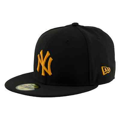 NEW ERA CAPPELLO CON VISIERA PIATTA SEASONAL BASIC NEW YORK YANKEES NERO