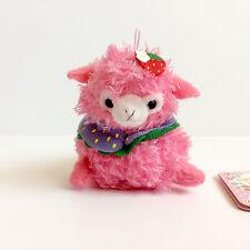 AMUSE Love Berry Baby Alpacasso Bright Pink Girl (8cm) Alpaca Arpakasso Plush
