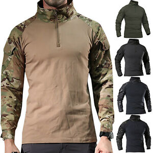Men-Camo-Military-T-shirt-Tactical-Long-Sleeve-Army-Combat-Shirt-Moisture-Blouse