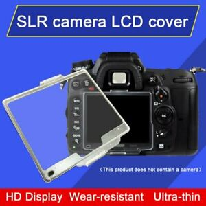 BM-9 LCD Monitor Screen Protective Cover Plastic Protector for Nikon D700